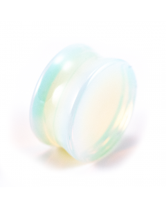 PUNKTURED | OPALITE DOUBLE FLARED STONE PLUG - Off Ya Tree