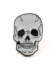 SWEET VENGEANCE | WHITE SKULL ENAMEL PIN - Off Ya Tree