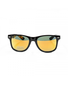 A LOST CAUSE | BRUSHED BLACK AND ORANGE SUNNIES - Off Ya Tree