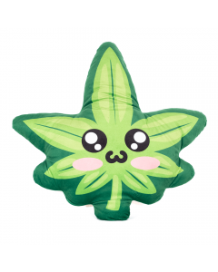 WAKE 'N' BAKE | CUTE KAWAII GREEN LEAF CUSHION