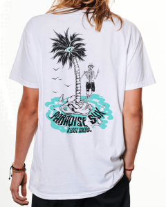 A LOST CAUSE   PARADISE SUX T-SHIRT - Off Ya Tree