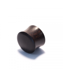 PUNKTURED | TAMARIND DOUBLE FLARED WOODEN PLUG - Off Ya Tree