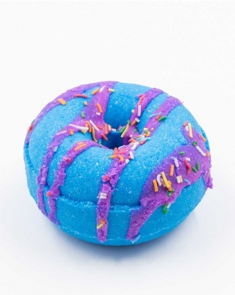 DROPDEAD GORGEOUS | BATH BOMB DONUT - BLUEBERRY MUFFIN