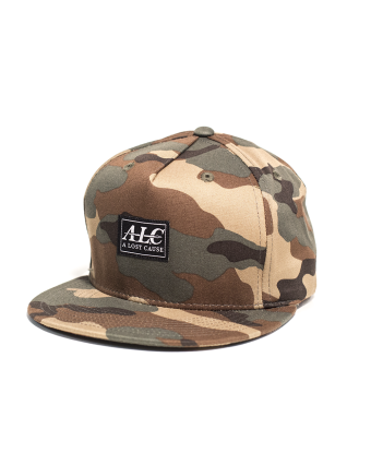 A LOST CAUSE   BRUSHED CAMO CAP - Off Ya Tree